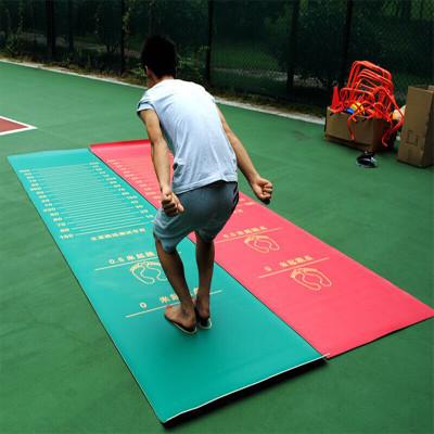 立定跳远垫子立定跳远测试仪专用垫加厚防滑中考跳远垫