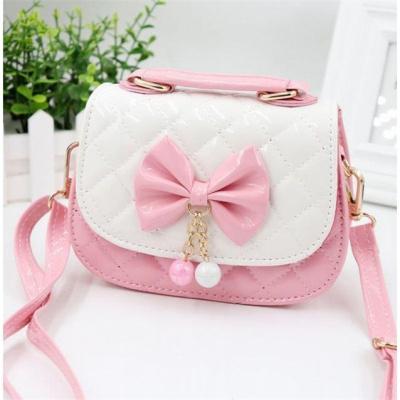 小女孩包包韓版可愛公主手提包斜挎包時尚兒童蝴蝶結迷你拎包背包