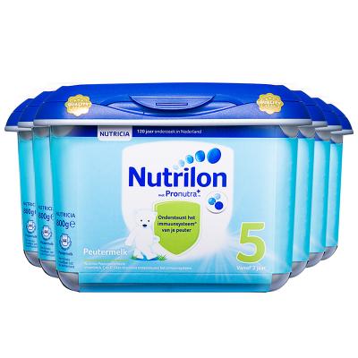 6罐裝 | 【乳糖配方】荷蘭牛欄 諾優能荷蘭版 Nutrilon海外 兒童配方奶粉 安心罐 5段(24月以上)800g