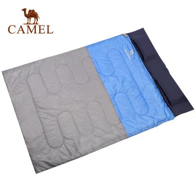 CAMEL骆驼户外双人睡袋 耐潮防寒保暖便携蓬松舒适睡袋露营野营