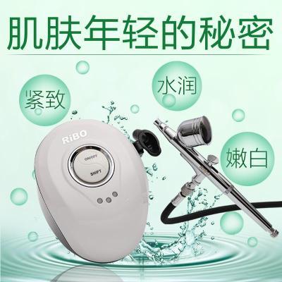 注水注氧儀家用無針高壓韓國皮膚水氧儀面部補水噴霧機院儀器 紅色配大容量噴20-40ml