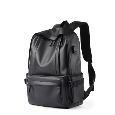 (VENTIGA)梵蒂加男包雙肩包男MB-6010男士背包商務電腦包休閑旅行包PVC學生背包