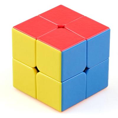 圣手7202A寶石二階魔方 比賽專用GEM二階魔方順滑不褪色 兒童男女小孩益智玩具減壓魔方 彩色