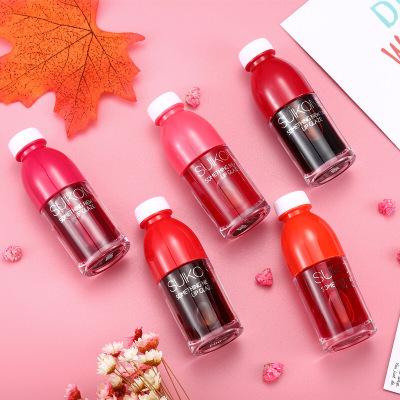 【新年精选】suikone/苏卡娜鲜甜果汁染唇液套盒5支装不易色液体口红唇油 / 口红水