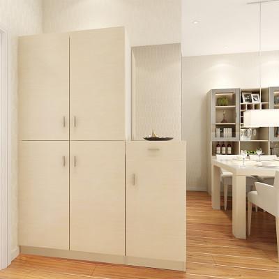 索菲亚卧室家具 定制衣柜 简约现代风格 超强收纳款多功能定制入户柜