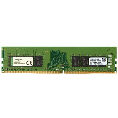 金士顿(Kingston) KVR DDR4 2400 4G 台式组装机电脑内存条(宽窄内存随机发货)