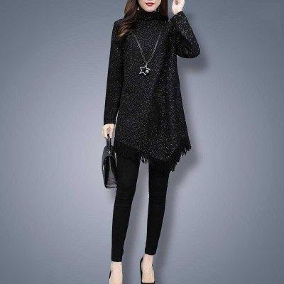 思蜜怡大碼女裝洋氣上衣胖mm連衣裙2020年秋季新款設計感顯瘦減齡裙子