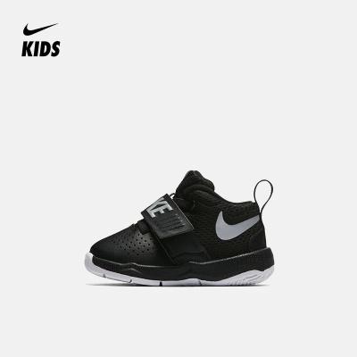NIKE耐克童鞋2019系带魔术贴男女童婴童运动鞋男童休闲减震篮球鞋篮球系列 881943