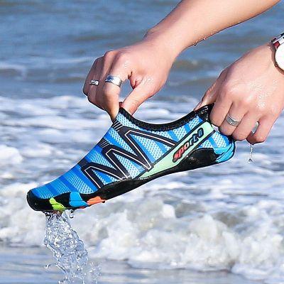 新款速干涉水鞋男士沙灘漂流健身透氣防滑涼鞋情侶潛水游泳鞋溯溪鞋 TCVV