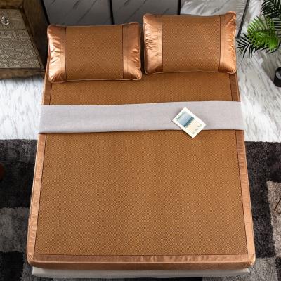 J.H.Longess 素色围布藤席床笠式凉席套件1.8米床夏季席子三件套空调凉席1.5m双人床