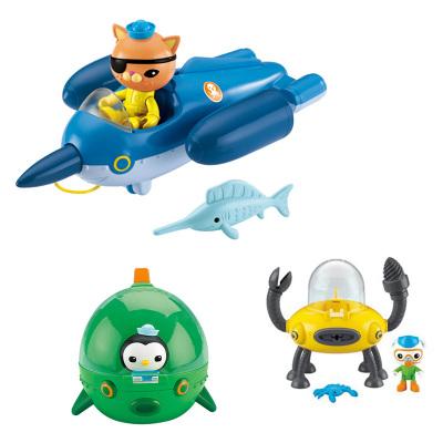 OCTONAUTS 費雪,Fisher Price 海底小縱隊超級艦隊組合裝動漫玩具 CHJ04