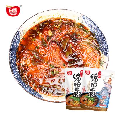四川特產正宗白家陳記綿陽米粉175g*3袋裝開元砂鍋細米粉米線方便速食