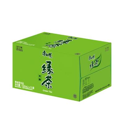 康師傅 綠茶蜂蜜茉莉味500ml*15瓶 整箱裝 茶飲料(新老包裝交替發貨)