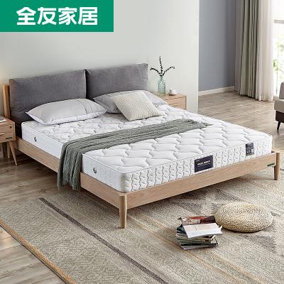 【滿1000元可換購 單拍無效】全友家私 彈簧椰棕床墊 簡約現代臥室軟硬兩用1.8米床墊13011