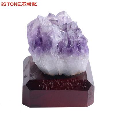 iSTONE/石頭記水晶擺件辦公室家居風水擺件小飾品