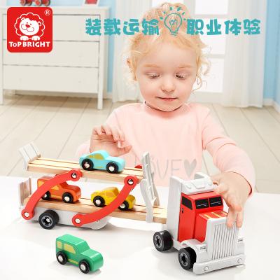 特寶兒(topbright)車輛運輸車 兒童玩具男孩女孩3歲-6歲 120327