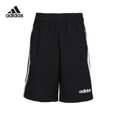 阿迪達斯(adidas)YB E 3S KN SH 男大童訓練針織休閑運動短褲DV1796