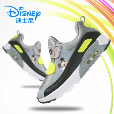 迪士尼童鞋儿童运动鞋气垫跑步鞋儿童鞋子男小学生女童男童运动鞋