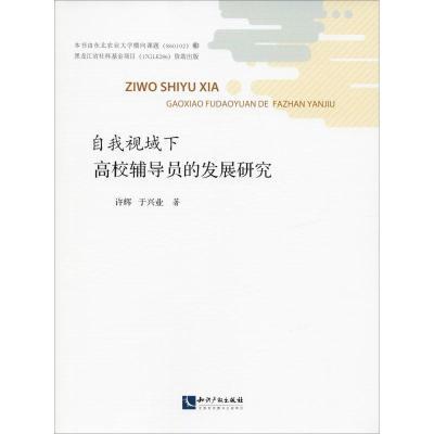 自我視域下高校輔導員的發展研究9787513058995知識產權出版社許輝