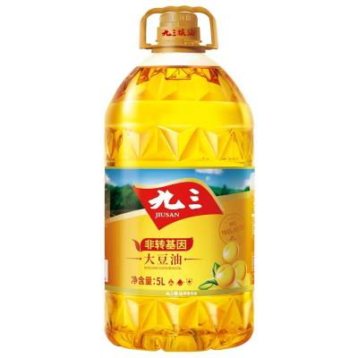 九三 一级大豆油 5L 非转基因食用油 东北大豆油新老包装