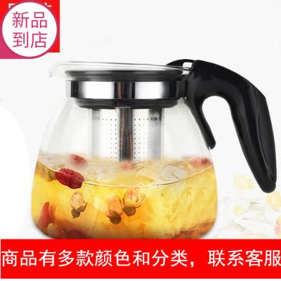 海尔茶吧机饮水机通用保温透明玻璃茶壶泡茶煮茶壶单个烧水壶