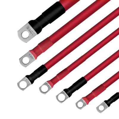 瑞物 UPS不間斷電源 電池連接線 絕緣阻燃防水 無氧銅銅芯 壽命長 橫截面積10平方 孔徑8毫米 長度400毫米