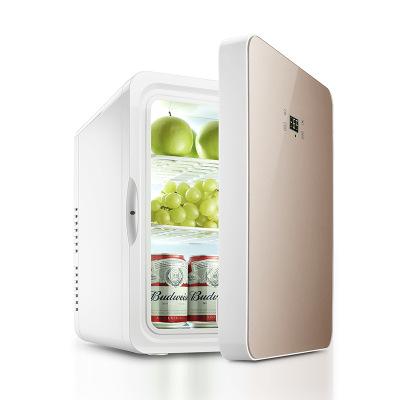 GIAUSA車載冰箱22L冰箱迷你小冰箱學生宿舍冷暖箱制化妝品車家兩用冷藏保鮮
