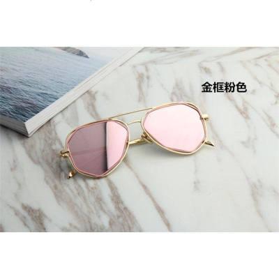 蛤蟆镜金属框亲子眼镜潮男儿童太阳镜眼睛儿童眼镜墨镜太阳镜个性