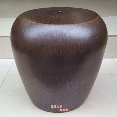 景德镇新中式陶瓷鼓凳子复古户外创意手工圆凳凉墩梳妆凳换鞋凳
