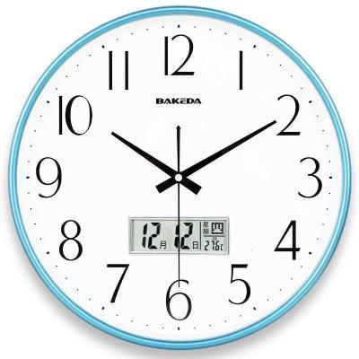 【新品特惠】時尚簡約掛鐘表臥室客廳現代靜音時鐘掛表創意卡通石英鐘表