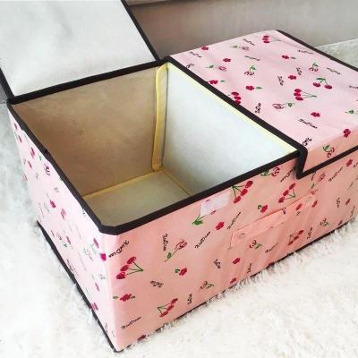 HOTBEE新品整理箱防水小號儲物盒冬天落地集裝箱儲衣箱 折疊大號收納箱9