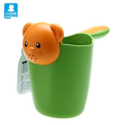 小白熊(Snow Bear)婴儿花洒浴勺PP材质 宝宝花洒水勺 宝宝洗澡洗头 09265