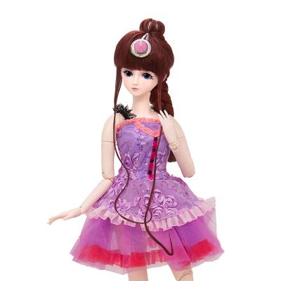 叶罗丽娃娃女孩儿童玩具夜萝莉仙子DIY仿真洋娃娃精灵梦卡通套装礼盒改装换装玩具 茉莉仙子60CM