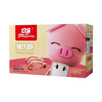 方廣零食肉松營養原味豬肉酥84g