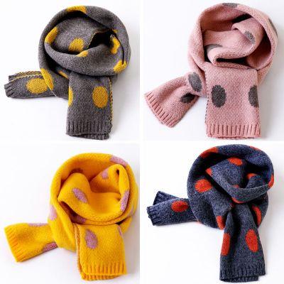 【仿羊绒围巾】韩版冬季儿童围巾男童女童保暖针织宝宝加厚围脖潮 诺妮梦