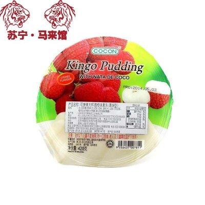 馬來西亞館 可康/Cocon 大杯果凍 (果味型) 荔枝味 420g*1杯