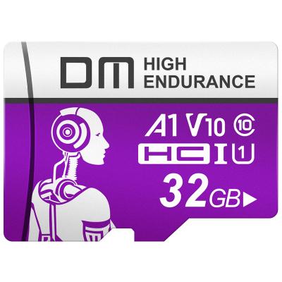 DM 32GB TF(MicroSD)存儲卡 C10 機械師系列監控卡 行車記錄儀攝像頭專用高速內存卡