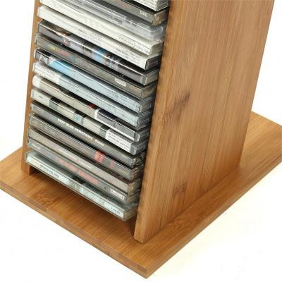 家具好店唱片收納架木質CD架收納盒放光盤唱片收納架桌面DVD碟片架置物架放心購