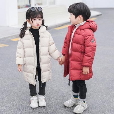 依蓝圣雪反季清仓儿童羽绒棉服中长款男女童棉衣小孩棉袄宝宝加厚童装外套
