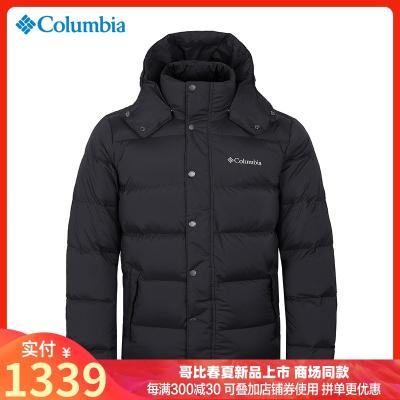 2019秋冬哥倫比亞戶外男裝700蓬白鵝絨加厚熱能可打包羽絨服PM5708