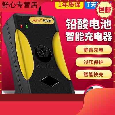 電瓶電動車充電器36V48V60V72V84V96V新日愛瑪雅迪小刀臺鈴 60V30AH32AH T型