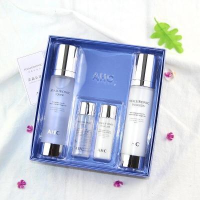 【蘇寧優選】神仙水套5玻尿酸補水保濕清爽神仙水水乳套盒孕婦可用 AHC 神仙水 兩件套