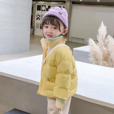 【精品特卖】女童棉衣2019新款冬装韩版洋气儿童宝宝短款棉服加厚外套棉袄上衣