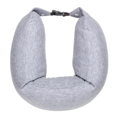 8H天然乳膠U型枕辦公午睡枕汽車飛機頭枕簡約休閑多功能護頸枕U1