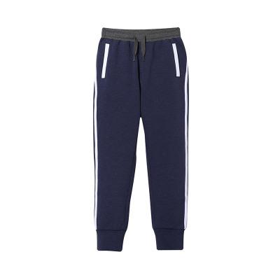 李宁童装卫裤新款男大小童3-12岁长裤休闲裤子春夏季针织运动裤