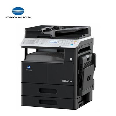 柯尼卡美能达(KONICA MINOLTA)bizhub266I复印机 多功能 A3复合机 B266升级款 主机+双面送稿器网卡双纸盒配置 打印机 一体机 复合机