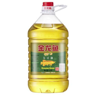 金龙鱼精炼一级大豆油5L/桶 食用油 优质大豆 营养健康家用烘焙