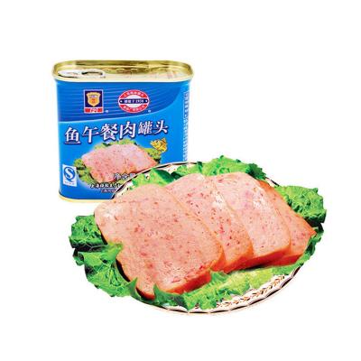 梅林MALING 鱼午餐肉罐头 340g 鱼类罐头