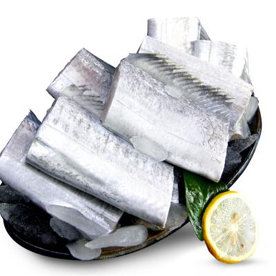 四海生鲜 东山岛野生黄金带鱼(4-5条)/盒 牙带鱼刀鱼 新鲜海鲜水产 450g 海鲜火锅食材