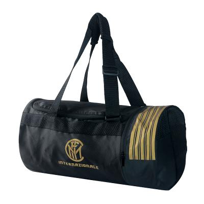 國際米蘭INTER ALL'APERTA黑金運動旅行健身手提袋